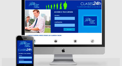 ¡Institut Europeu Clases 24h!